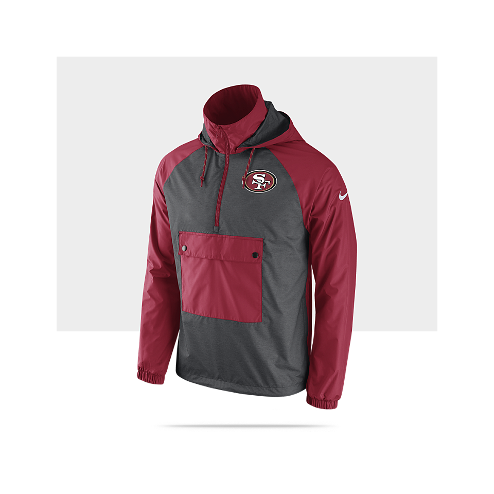 competitive price f5a39 d9687 Nike Anorak Pullover (NFL 49ers) Mens Jacket on PopScreen