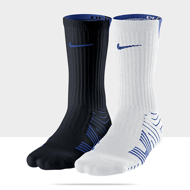 Nike Dri-FIT Performance Crew Football Socks (Medium/2 Pair)
