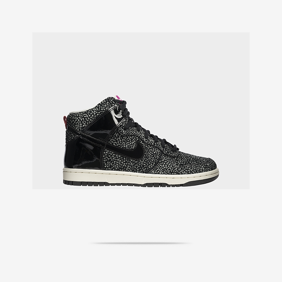 new concept 45f27 ff56b Nike Dunk High Skinny Print Womens Shoe