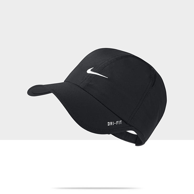 Nike Featherlight Tennis Hat 595510 010 A on PopScreen 4c227ed3c901