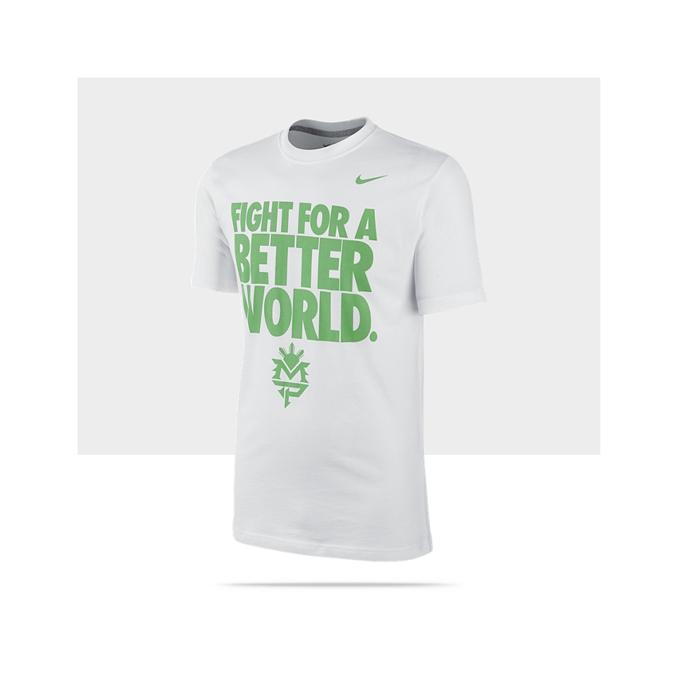 Nike Fight for a Better World Manny Pacquiao Mens T Shirt