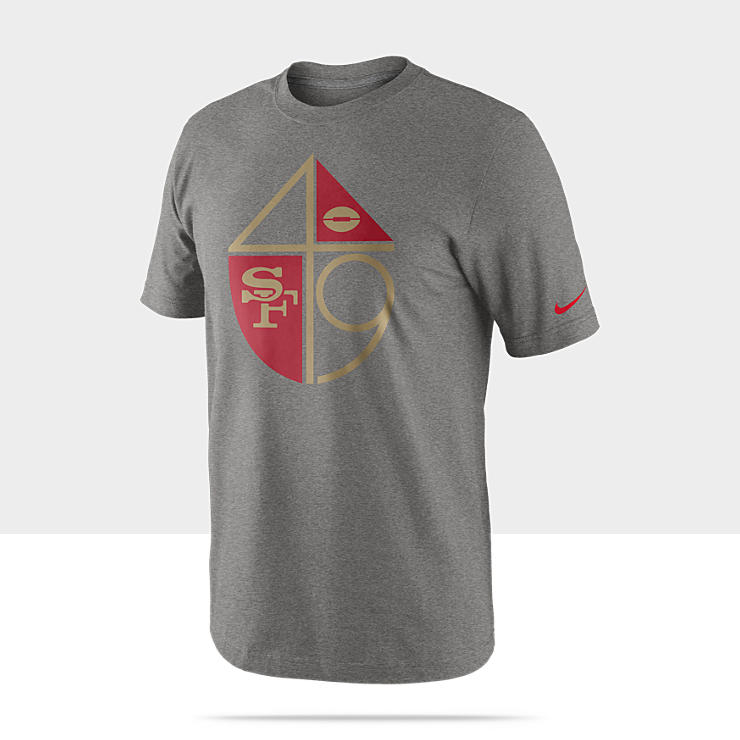 Nike Historical Mark (NFL 49ers) Men's T-Shirt