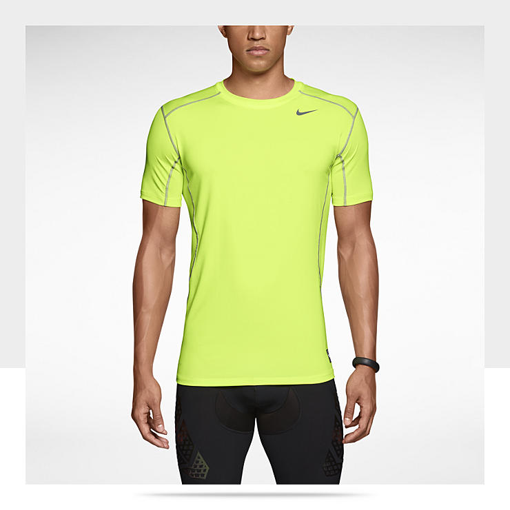 Nike Pro Combat Core 2.0 Fitted Short-Sleeve Men's Crew