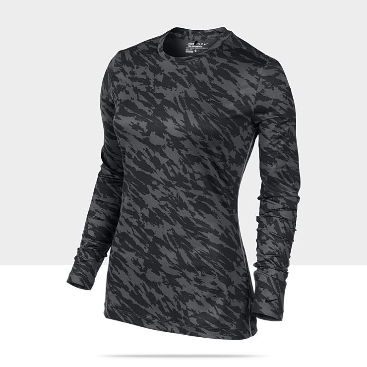 Nike Pro Core Fitted Long-Sleeve Women's Golf Shirt