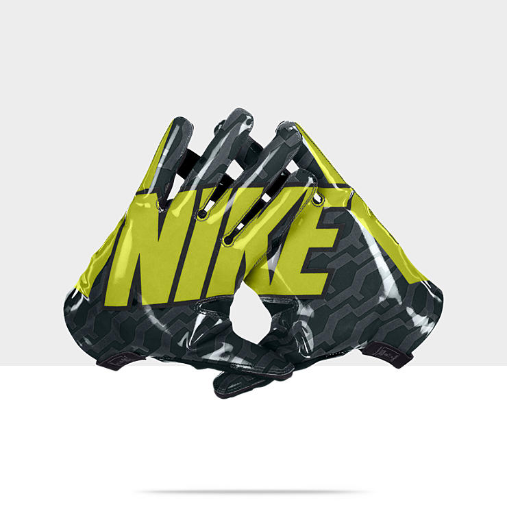 Nike Football Gloves Yellow: Green And Yellow Nike Football Gloves