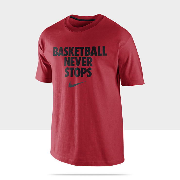 Nike &quot;Basketball Never Stops&quot; Men's T-Shirt