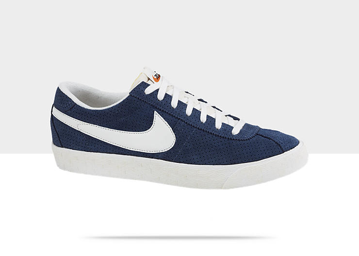 Nike Pre Montreal Racer Vintage Men's Shoe. Grey , Style - Color # 511331 -  061. Midnight Navy/Sail-Summit White , Style - Color # 488315 - 401