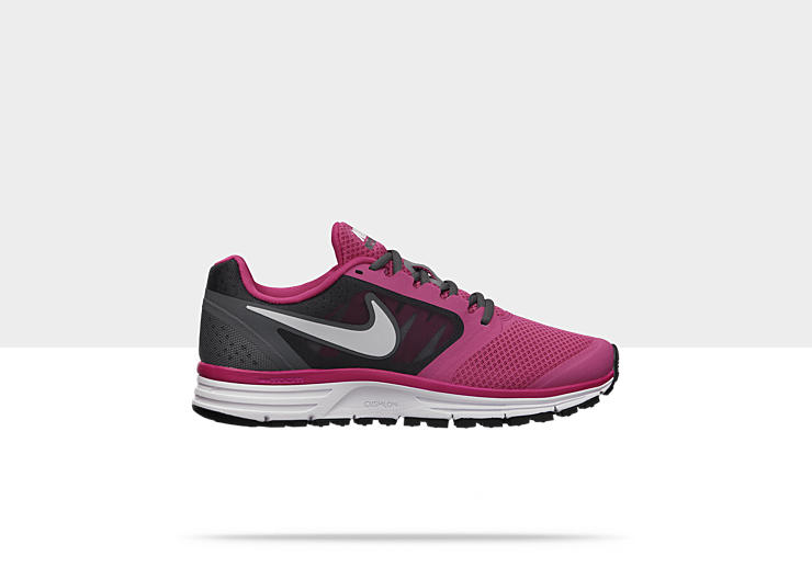 Nike Wzoom Vomero 582893-610 Pink Force White Grey Shoes Wide Women
