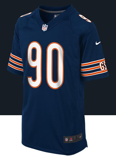 NFL Chicago Bears (Julius Peppers) Kids' Football Home Game Jersey