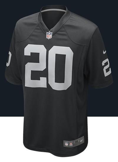 NFL Oakland Raiders (Darren McFadden) Kids' Football Home Game Jersey