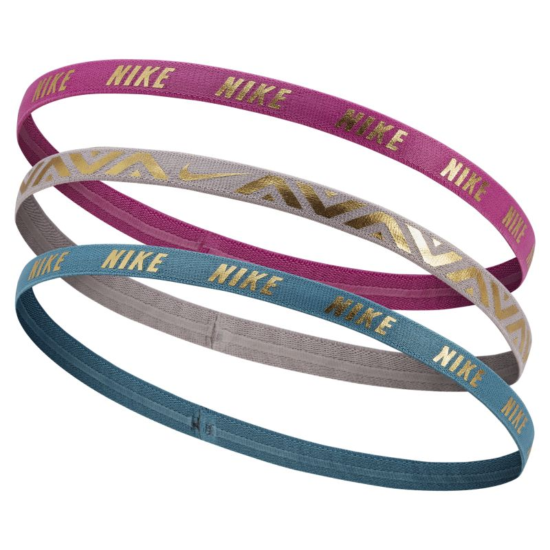 Nike Metallic Hairbands (3 Pack) - not applicable