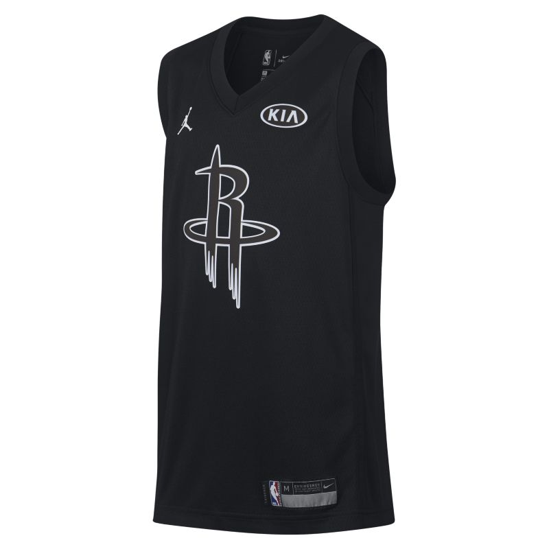 James Harden All-Star Edition Swingman Jersey Older Kids'Jordan NBA Connected Jersey - Black