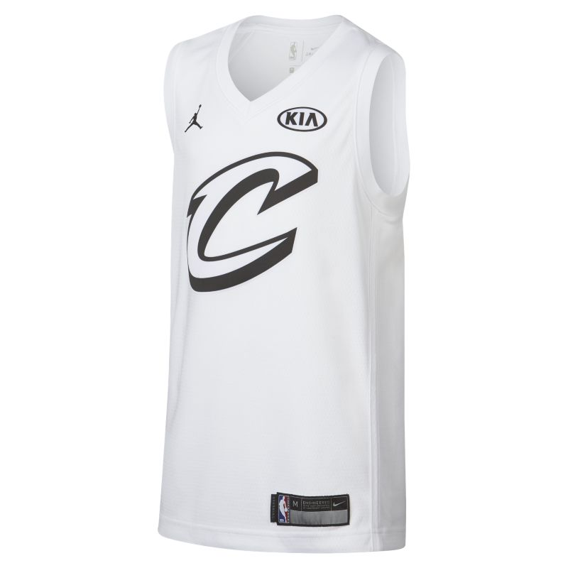 LeBron James All-Star Edition Swingman Jersey Older Kids'Jordan NBA Connected Jersey - White