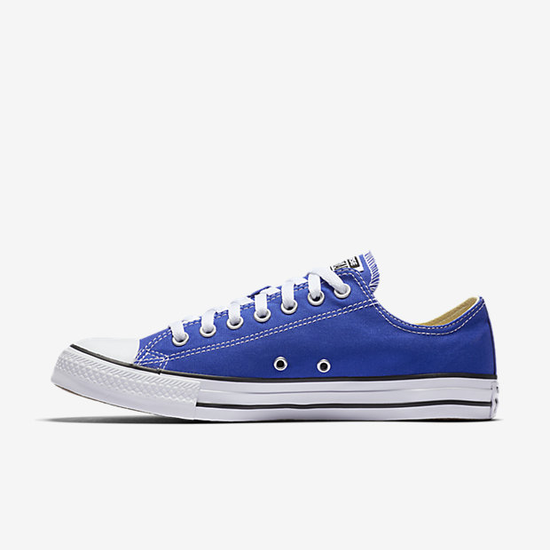 Converse Chuck Taylor All Star Low Top Men's Shoe (Blue)