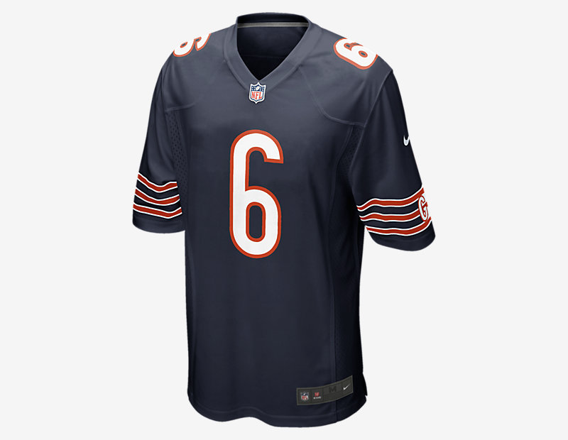 NFL Chicago Bears Game Jersey (Jay Cutler)