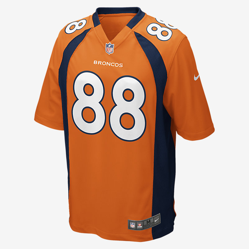 Image For NFL Denver Broncos Game Jersey (Demaryius Thomas)