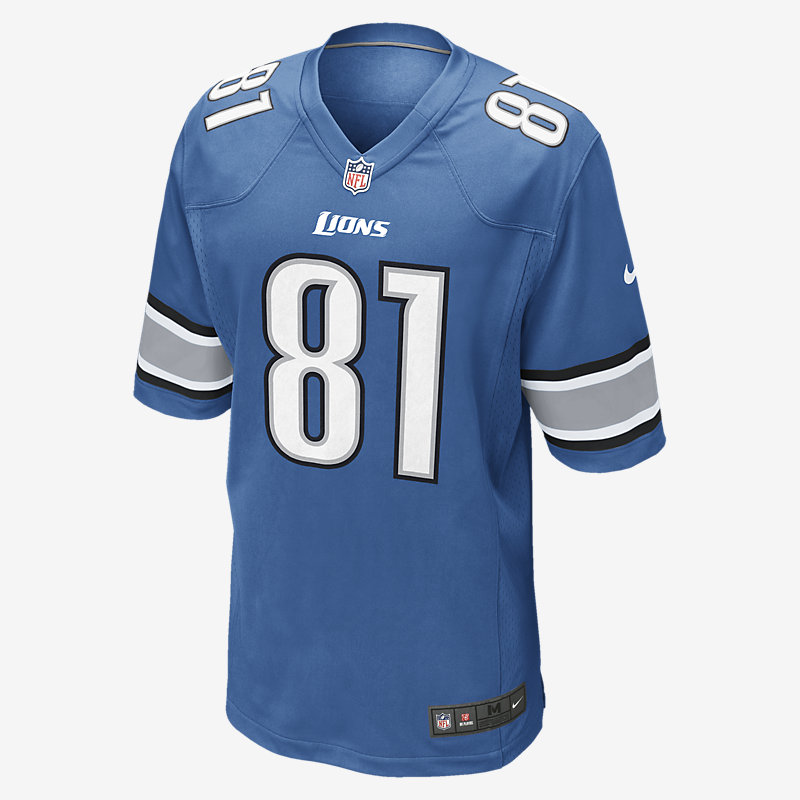 Image For Maillot NFL Detroit Lions (Calvin Johnson)