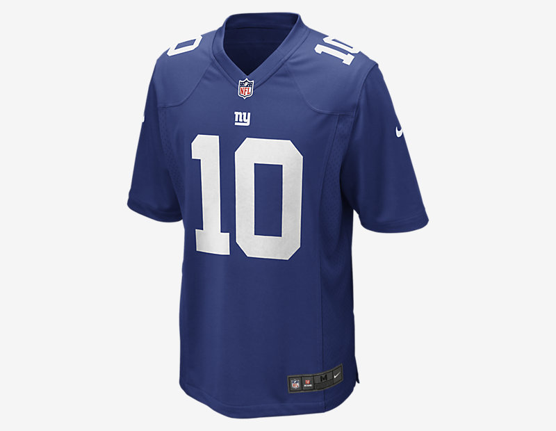 NFL New York Giants American Football Game Jersey (Eli Manning) thumbnail
