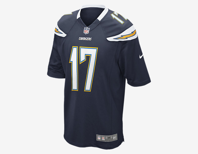 NFL Los Angeles Chargers Game Jersey (Philip Rivers)