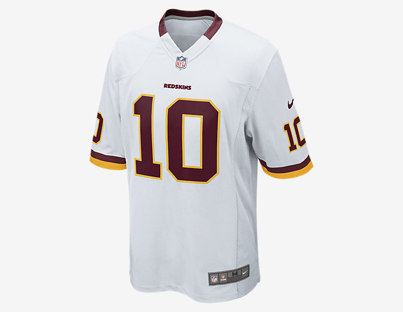 NFL Washington Redskins American Football Game Jersey (Robert Griffin III)