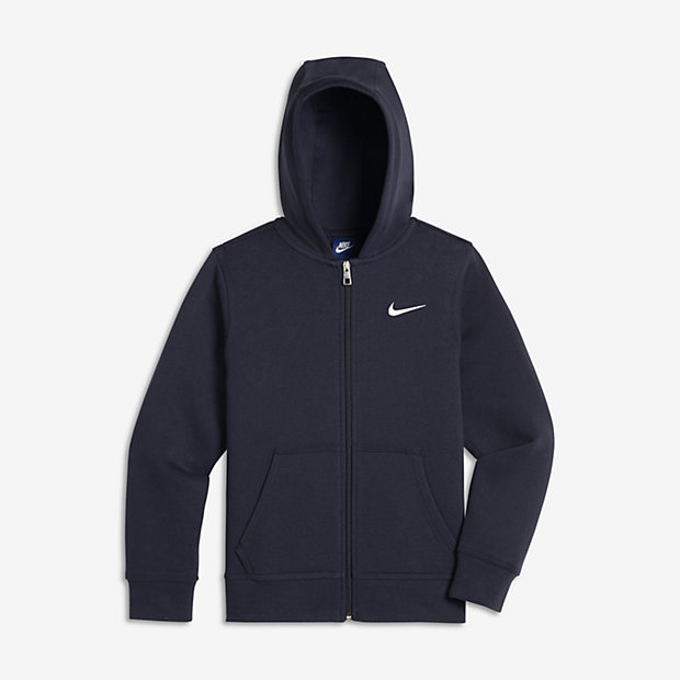 sweat capuche nike brushed fleece full zip pour gar on 8 15 ans fr. Black Bedroom Furniture Sets. Home Design Ideas