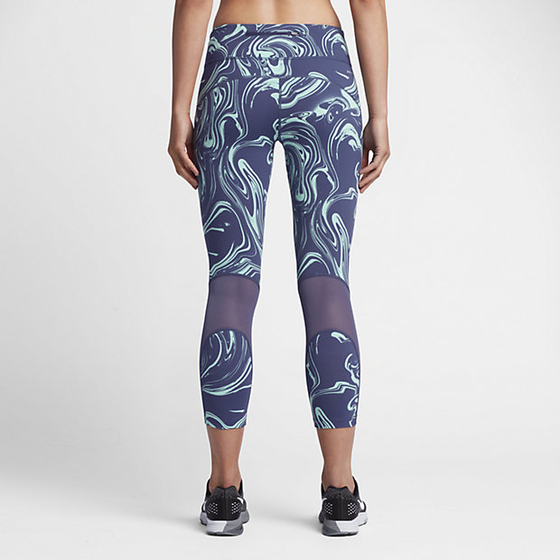 Nike Power Epic Lux Women's Printed Running Crops