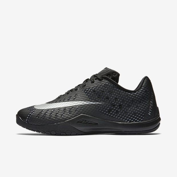 Nike Hyperlive Grey Basketball Shoes