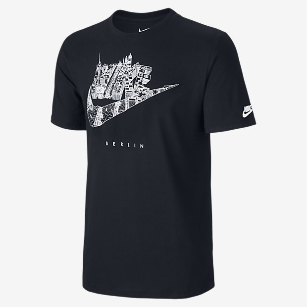 nike cityscape berlin herren t shirt de. Black Bedroom Furniture Sets. Home Design Ideas