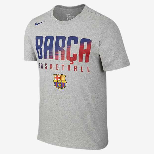 nike basketball barcelona men 39 s t shirt au. Black Bedroom Furniture Sets. Home Design Ideas