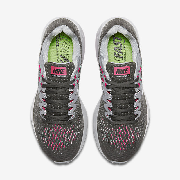 ... nike zoom structure 20 pink red - nike zoom structure 20 womens red gold  ...