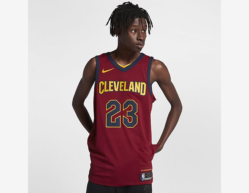 LeBron James Icon Edition Authentic Jersey (Cleveland Cavaliers) thumbnail