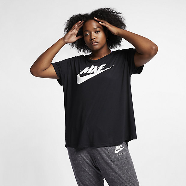 nike sportswear essential plus size women 39 s t shirt