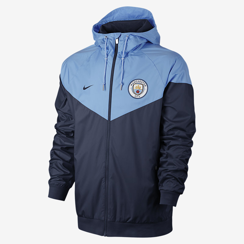 NIKE FR Manchester City FC Authentic Windrunner