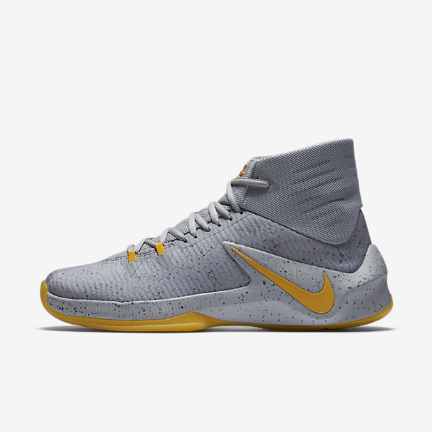 nike zoom clear out purple yellow