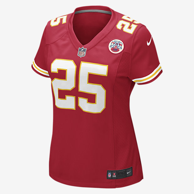 NFL Kansas City Chiefs Game Jersey (Jamaal Charles)