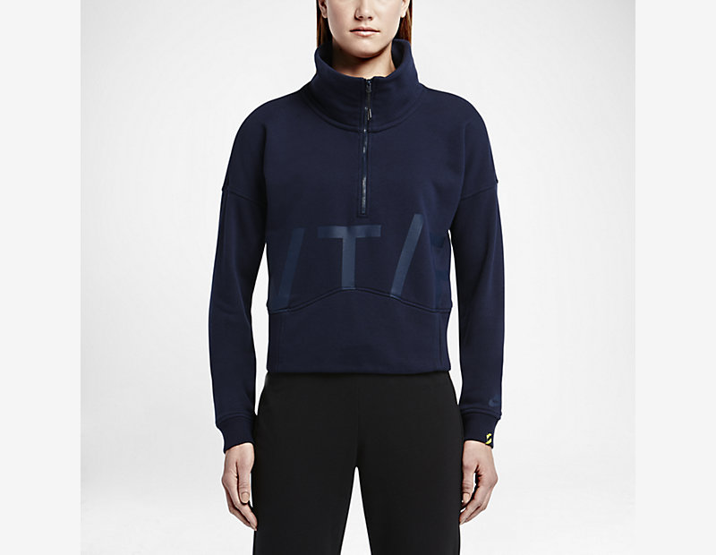 Nike Track and Field Fleece Half-Zip