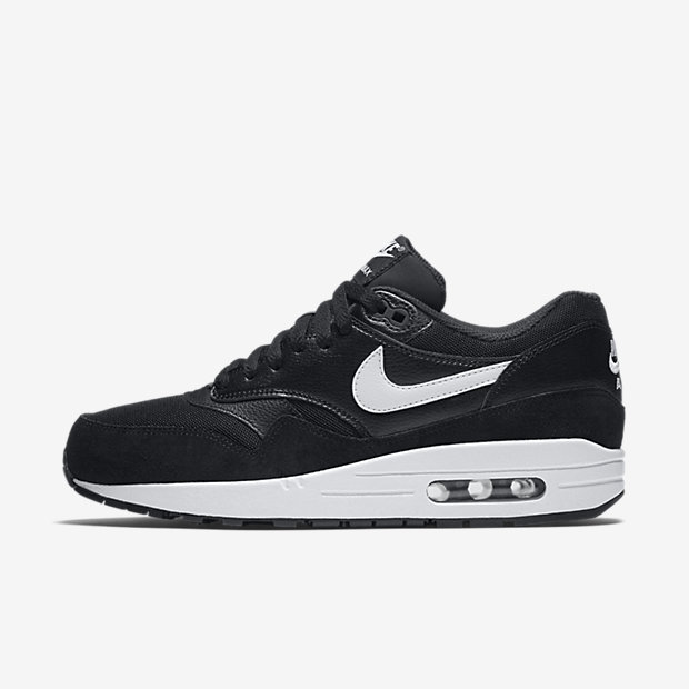 Nike Air Max 1 Essential Women's Shoe - Black/White