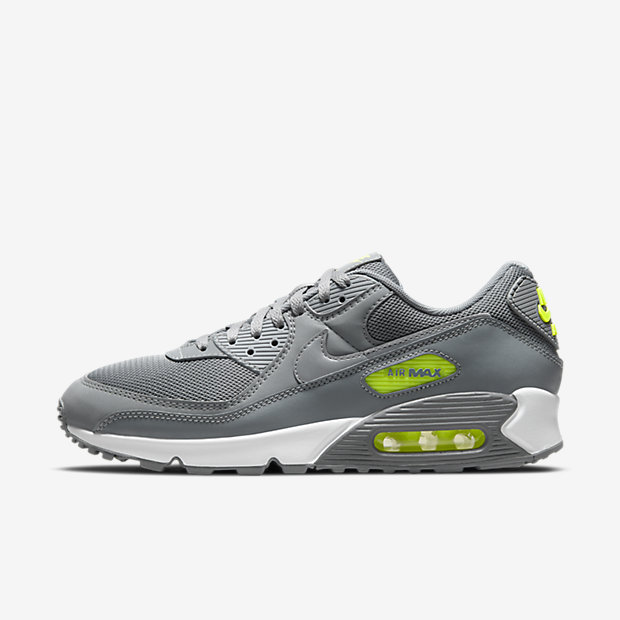 air max 90 gialle fluo