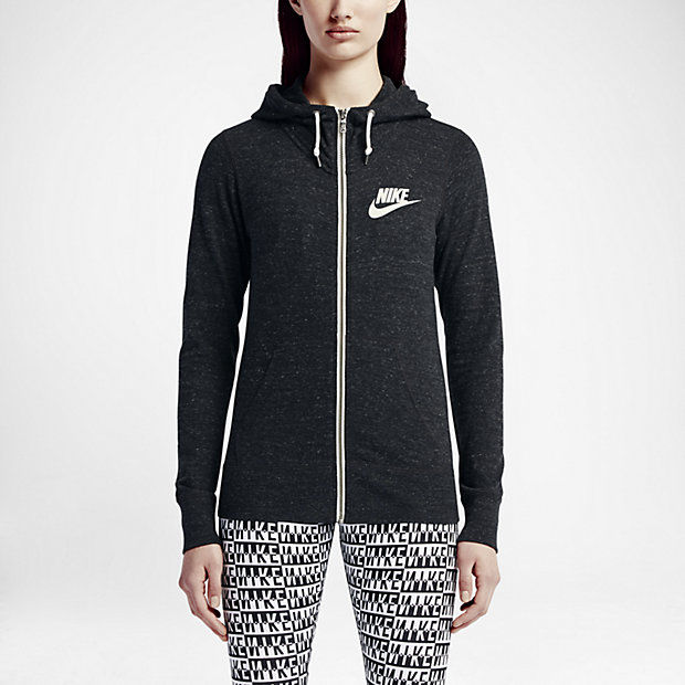 Nike Hoodie Zip Up Womens - Cardigan With Buttons