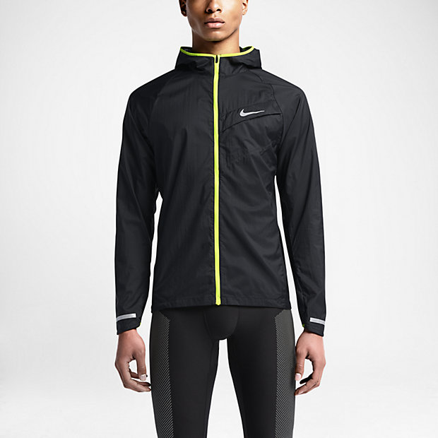 This is a very light running windbreaker which features a slick Nike design.