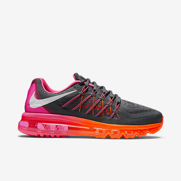 Luxury Cheap Nike Air Max 2015 Reflect 3M Silver Mens Running Shoes Online Was