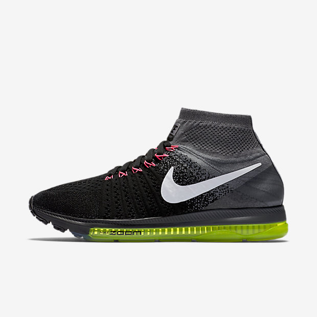 Nike Air Zoom All Out Flyknit Women's Running Shoe - Black