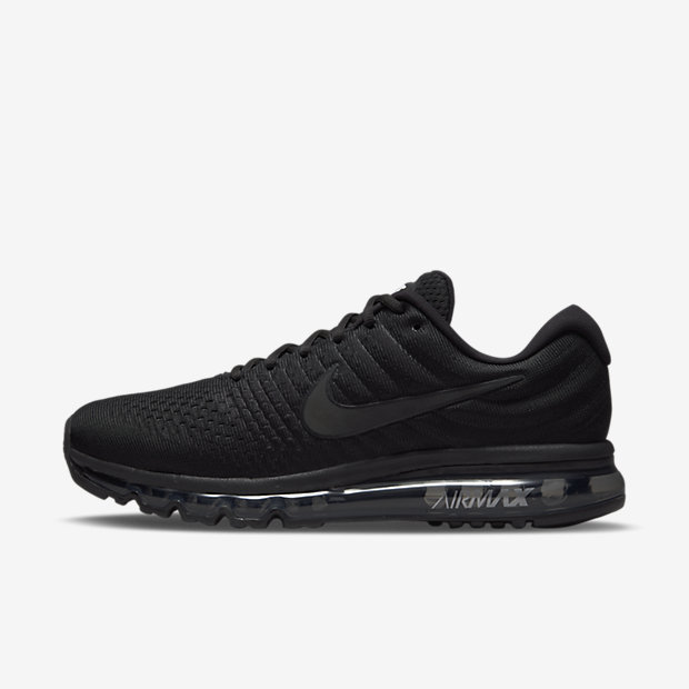 Nike Air Max 2017 Men's Running Shoe - Black