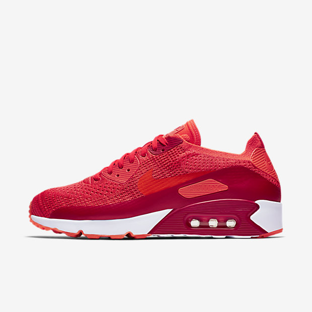 Image of Nike Air Max 90 Ultra 2.0 Flyknit Men's Shoe - Red