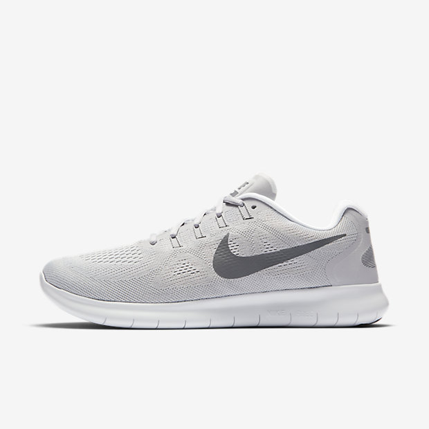 Nike Free RN 2017 Men's Running Shoe - Grey