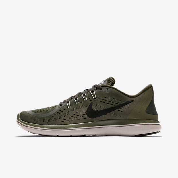 Nike Flex 2017 RN Men's Running Shoe - Olive