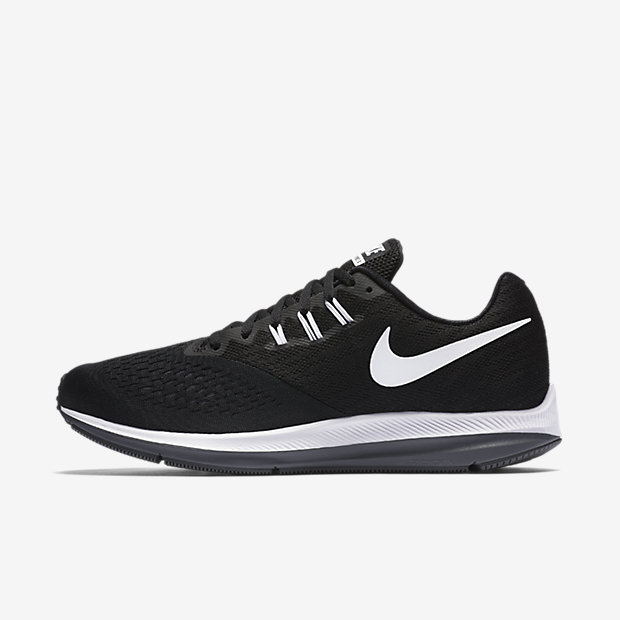 Nike Zoom Winflo 4 Men's Running Shoe - Black