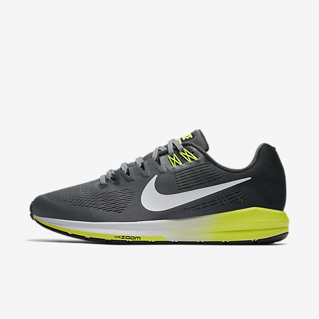 Nike Air Zoom Structure 21 (Wide) Men's Running Shoe - Grey