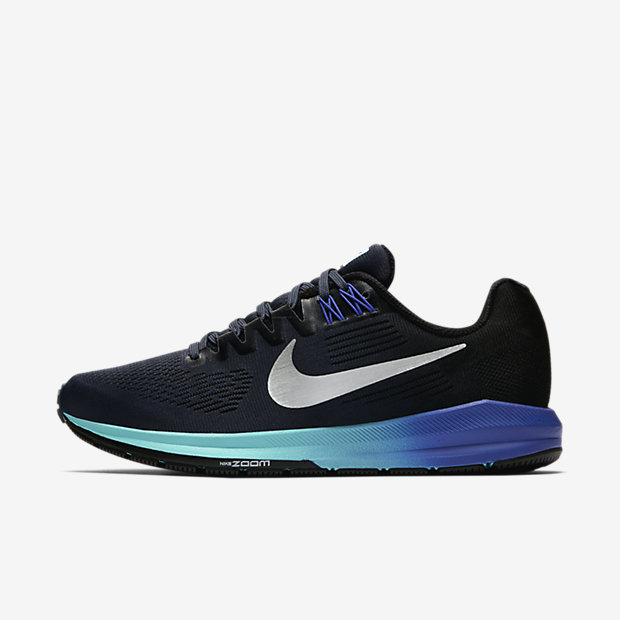 Nike Air Zoom Structure 21 Women's Running Shoe - Blue