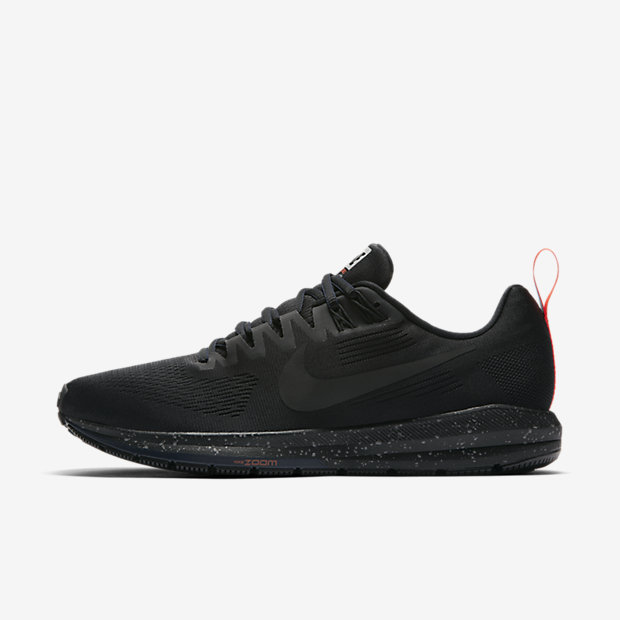 Nike Air Zoom Structure 21 Shield Men's Running Shoe - Black